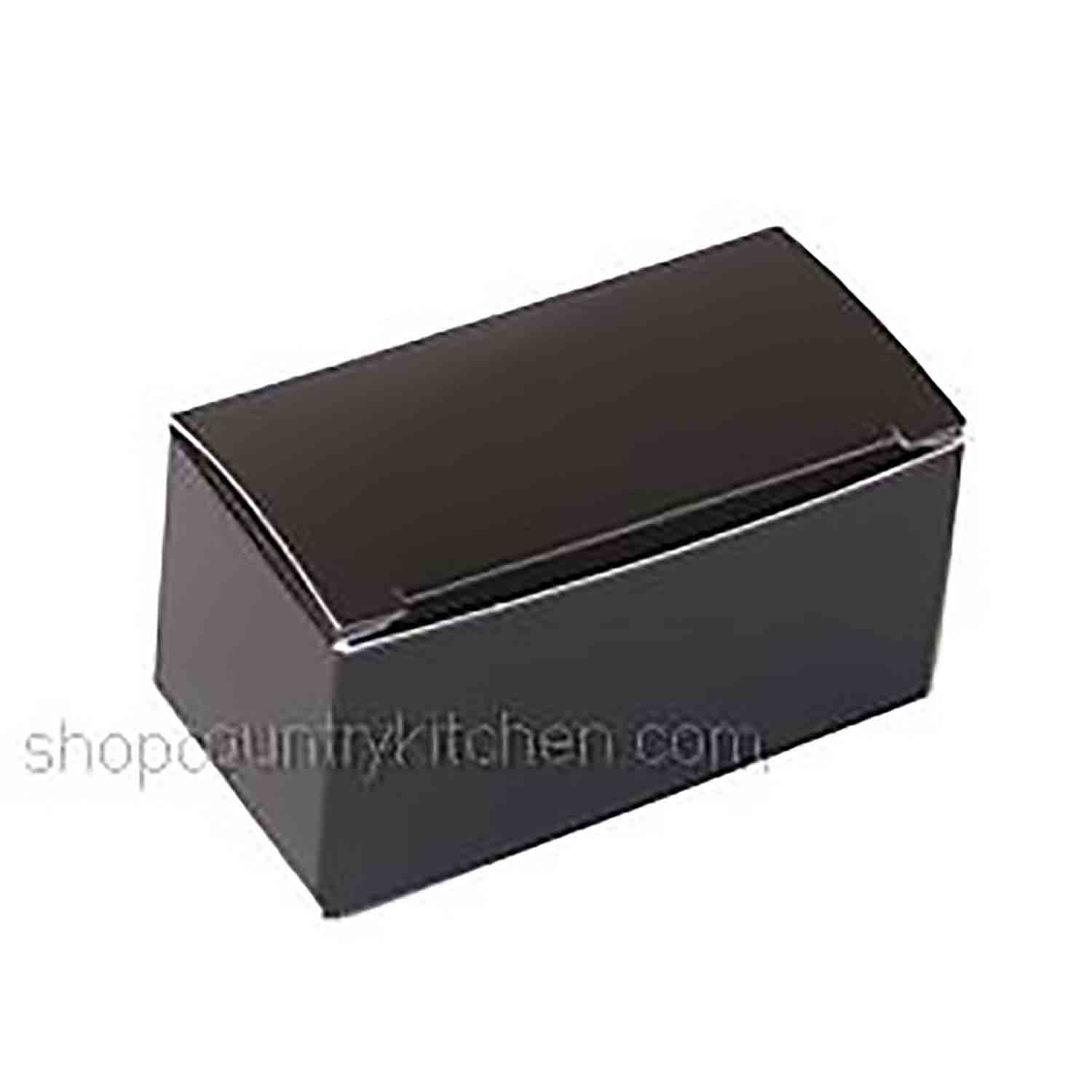 2 pc. Black Candy Box