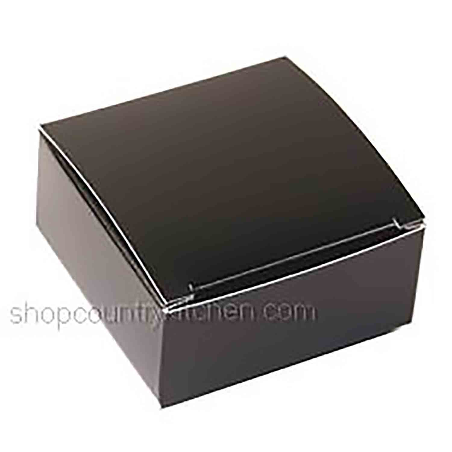 4 pc. Black Candy Box