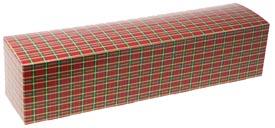 2 lb. Plaid Pretzel Candy Box