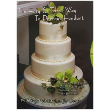 Dontz - Easy and Tasty Way to Perfect Fondant DVD