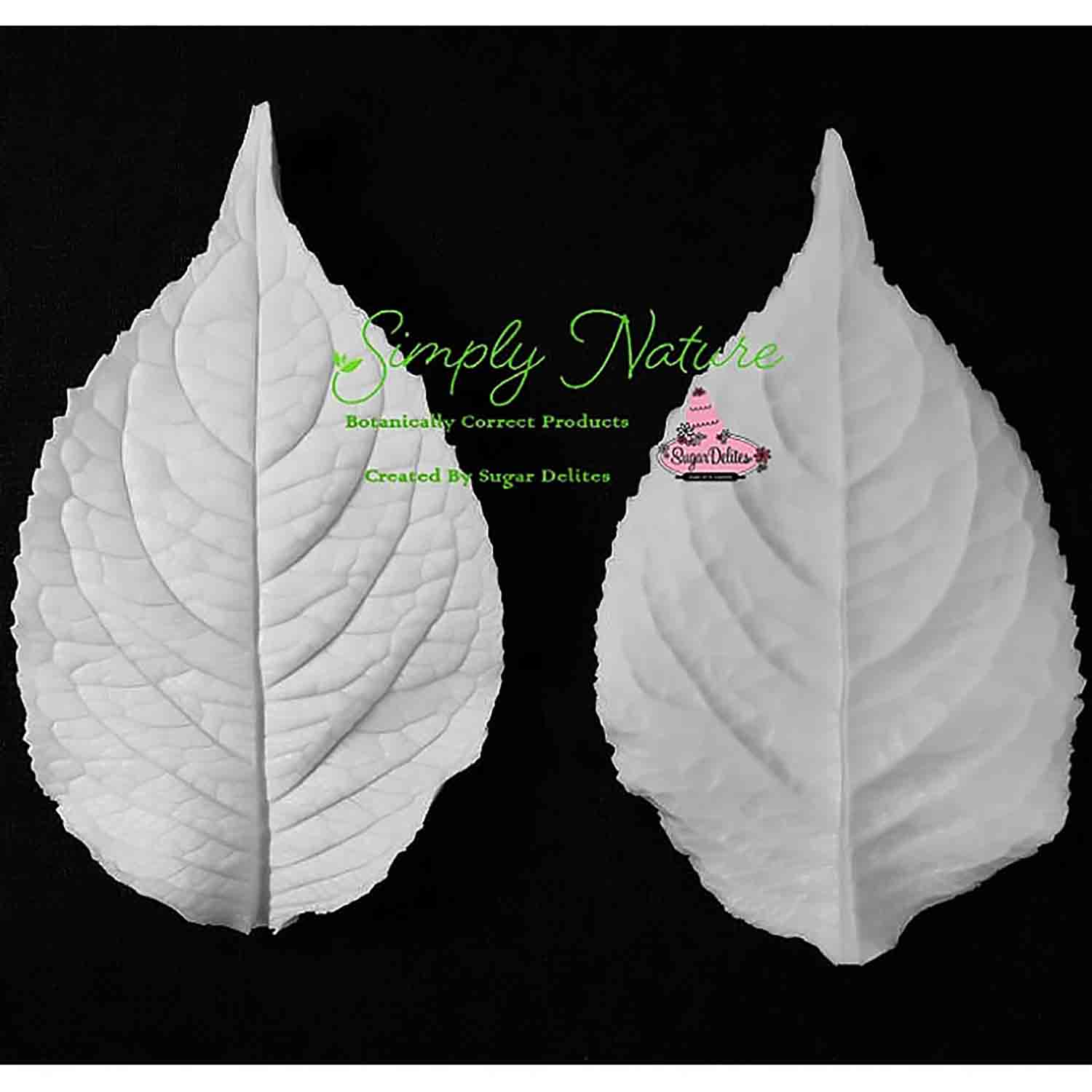Large Hydrangea Leaf Simply Nature Veiner Set