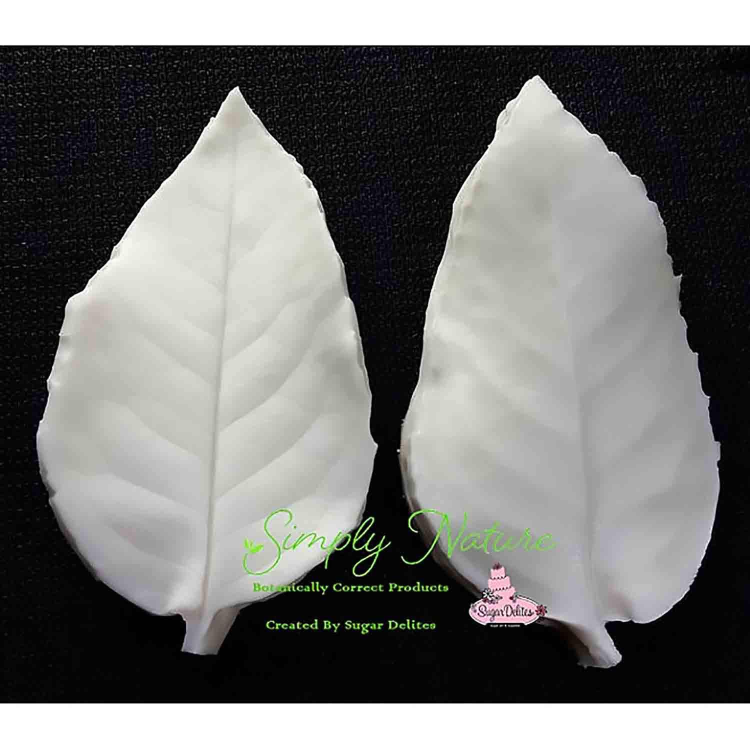 Small Rose Leaf Simply Nature Veiner Set