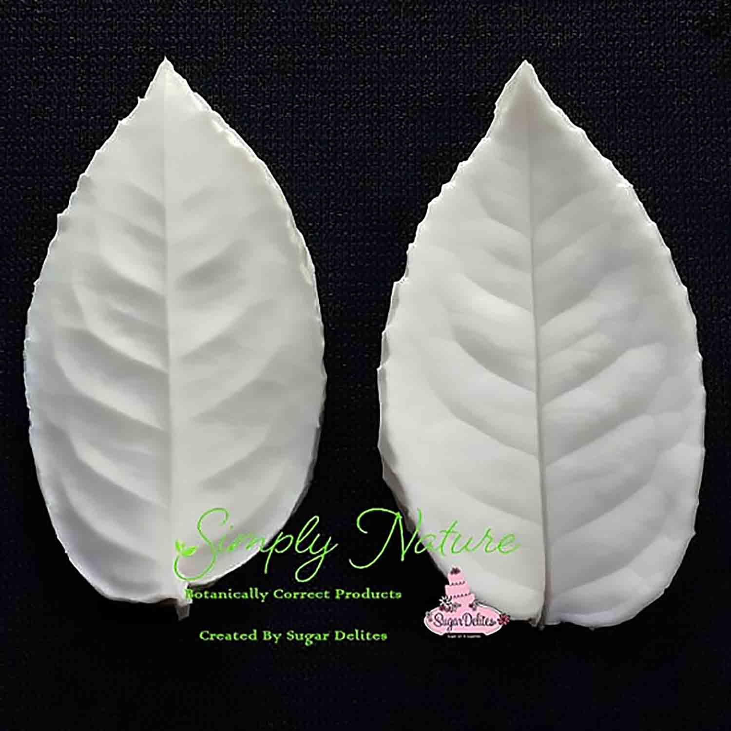Medium Rose Leaf Simply Nature Veiner Set