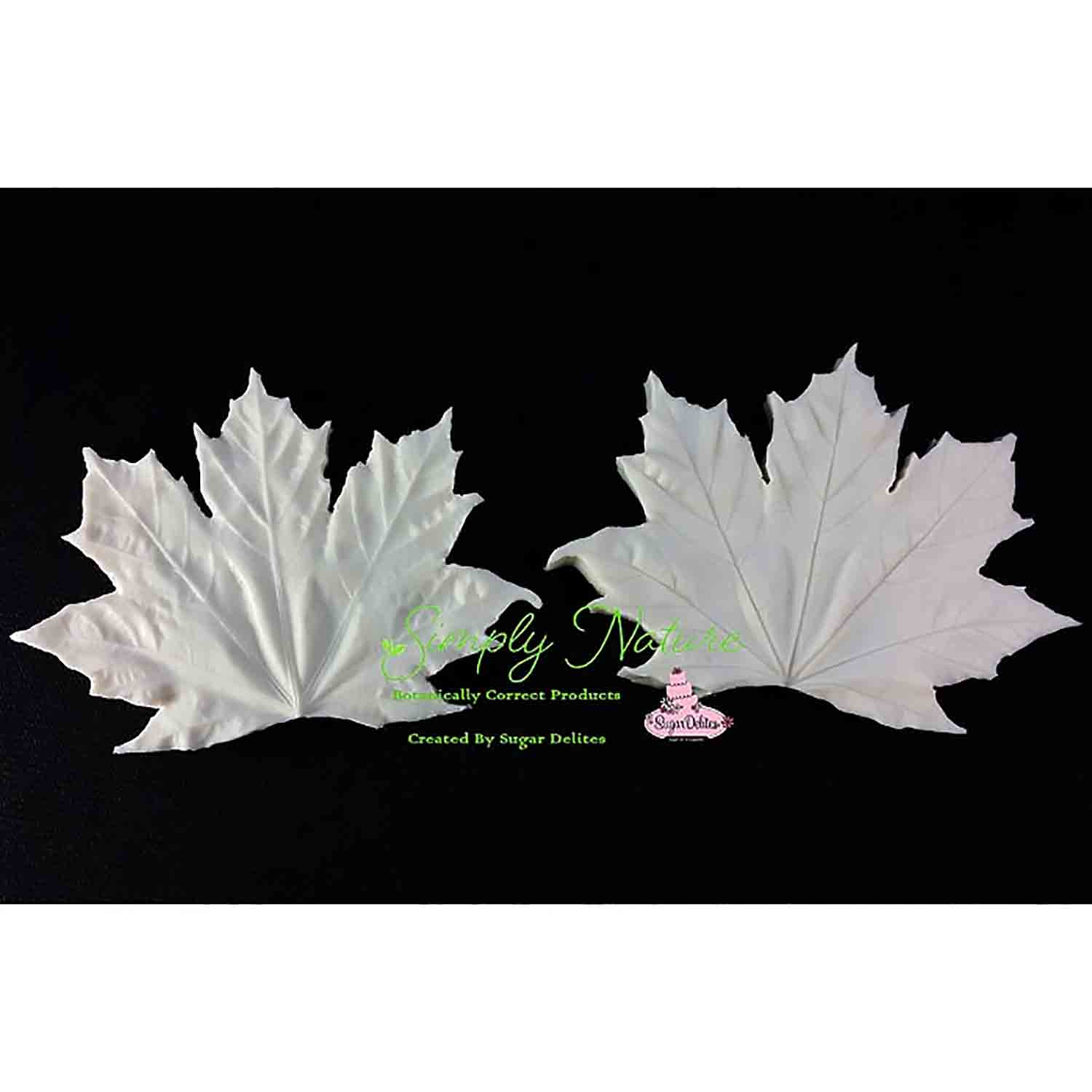 Medium Maple Leaf Simply Nature Veiner Set