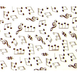 Chocolate Transfer Sheet- Symphony
