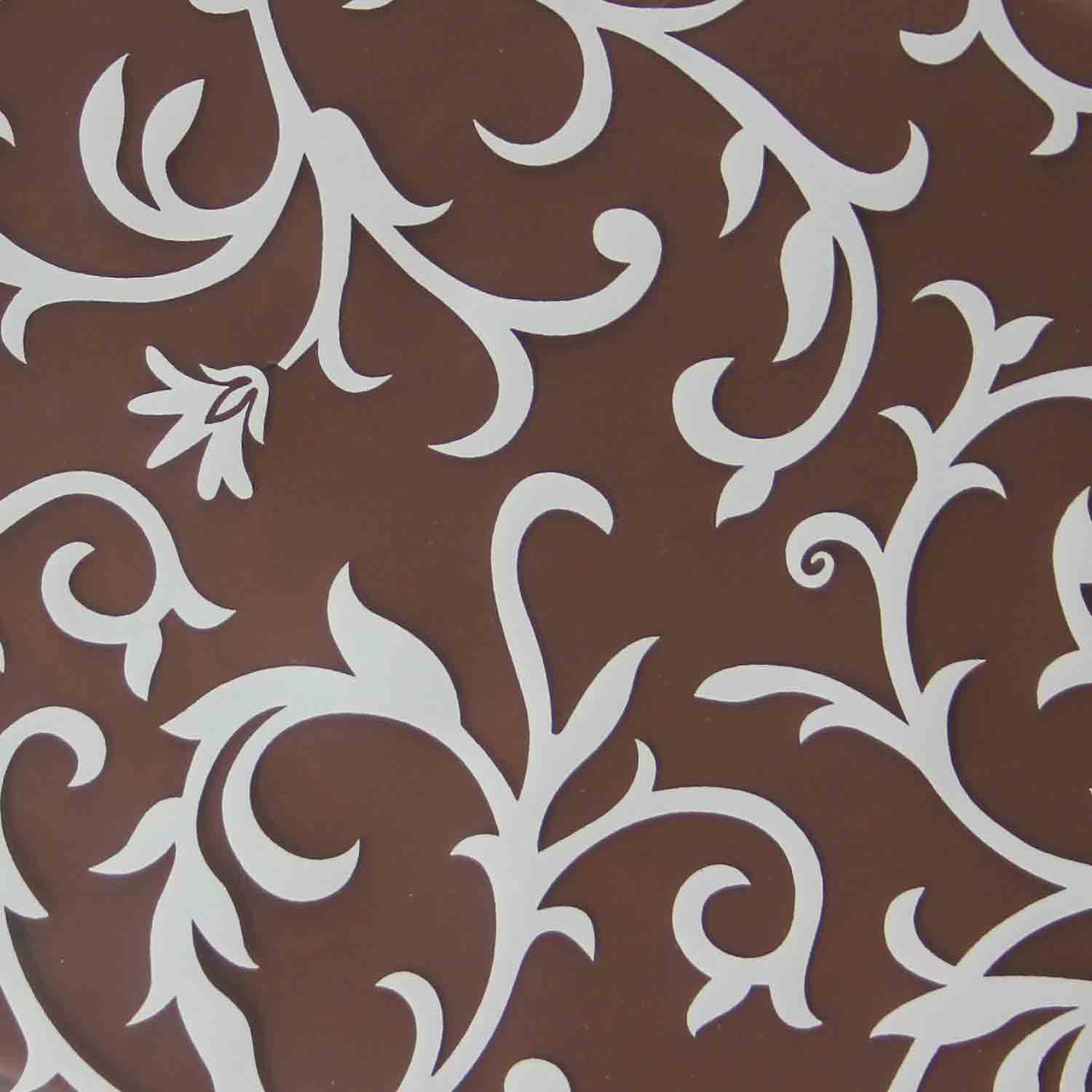 Chocolate Transfer Sheet-White Empire