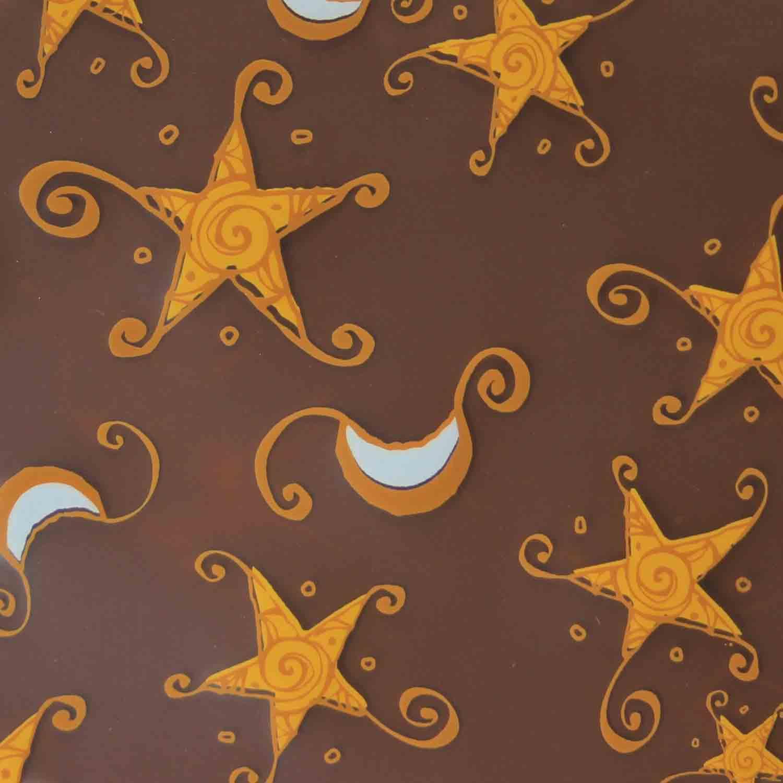 Chocolate Transfer Sheet-Etoiles