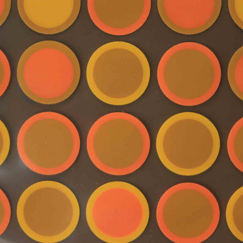 Chocolate Transfer Sheet-Caramel Circle