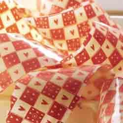 Chocolate Transfer Sheet-Carre De Coeurs Hearts
