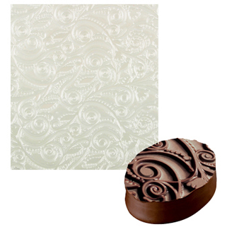 Floral Design Impression Mat