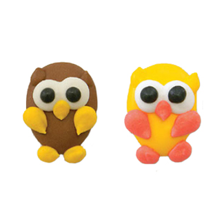 Icing Layons - Fall Owls