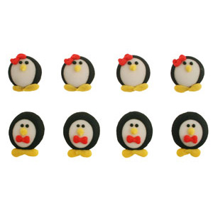 Icing Layons - Penguin Assortment