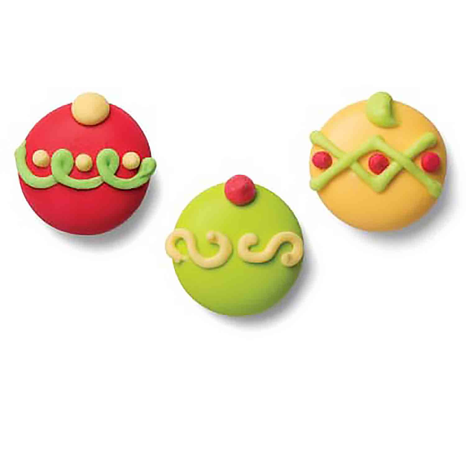 Icing Layons - Decorated Ornament Assortment