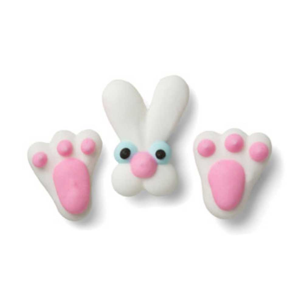Icing Layons - Bunny Face & Feet