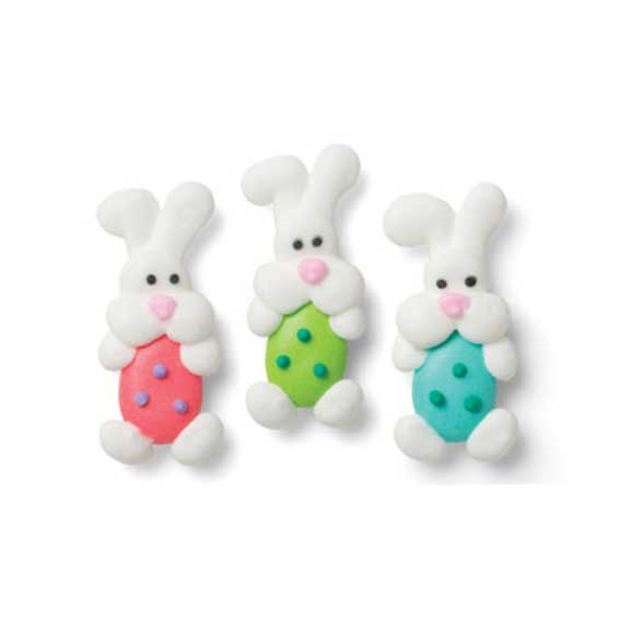 Icing Layons - Bunnies with Eggs