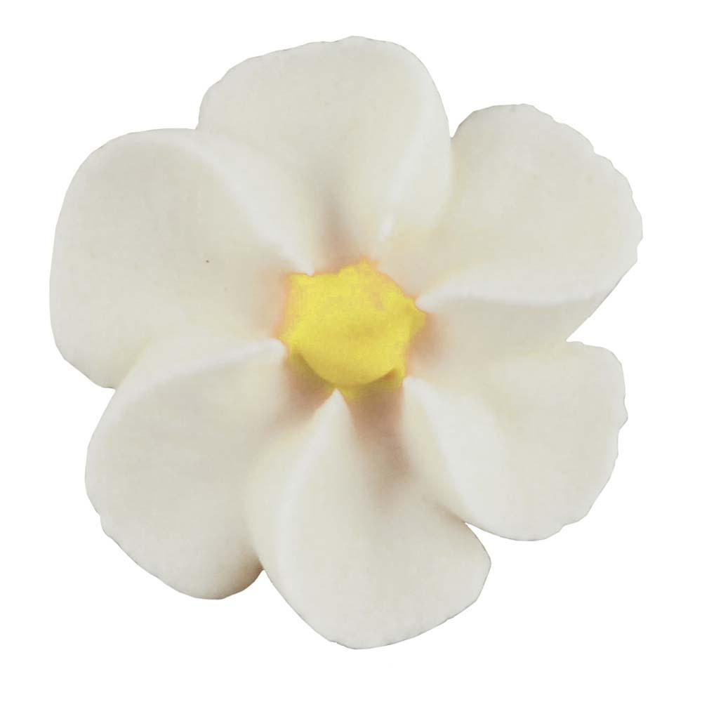 Royal Icing Flowers - Medium White