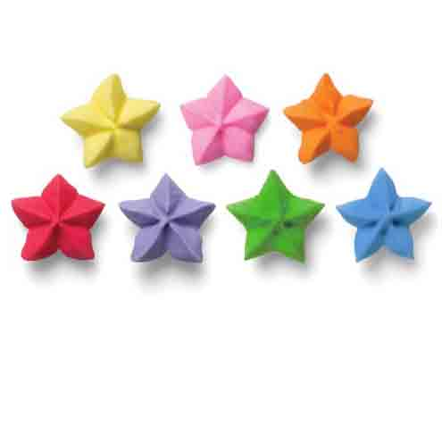 Icing Layons - Star Assortment