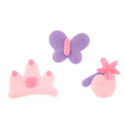 Icing Layons - Princess Assortment