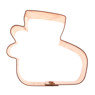 Copper Cookie Cutter-Baby Bootie