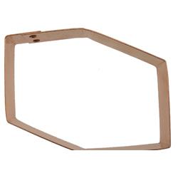 Copper Cookie Cutter-3-D Block
