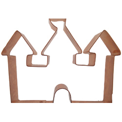 Copper Cookie Cutter-Castle