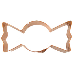 Copper Cookie Cutter-Wrapped Candy