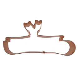Copper Cookie Cutter-Diploma