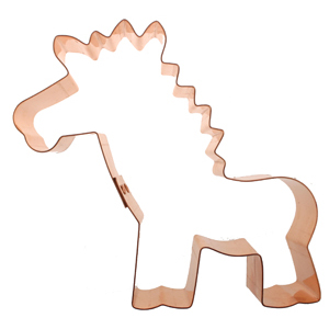 Copper Cookie Cutter - Fun Giraffe