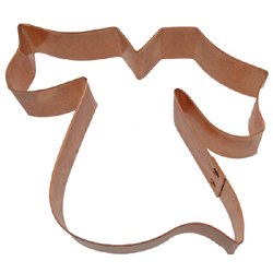 Copper Cookie Cutter-Grad Gown