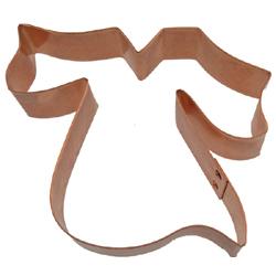 Copper Cookie Cutter-Grad Gown