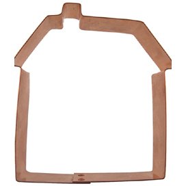 House Copper Cookie Cutter