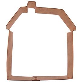 House Copper Cookie Cutter