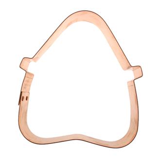 Copper Cookie Cutter-Lady's Purse