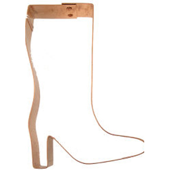 Copper Cookie Cutter-Fashion Boot