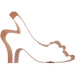 Copper Cookie Cutter-Sling Back Shoe