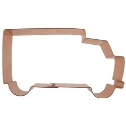 Copper Cookie Cutter-Delivery Truck