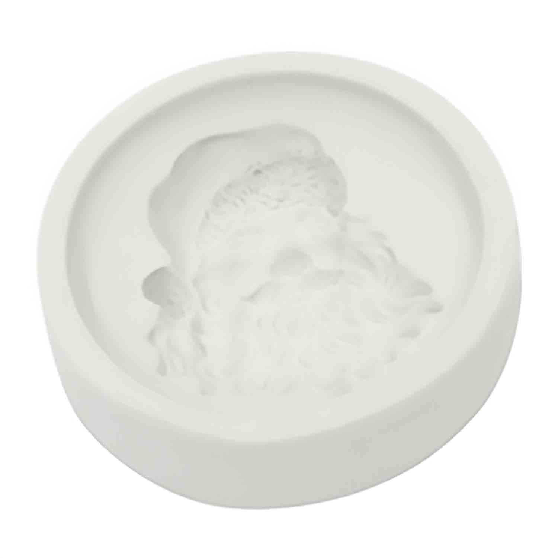 Santa Silicone Cupcake Mold