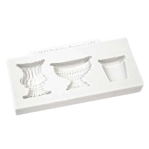 Pots and Urns Silicone Accent Mold