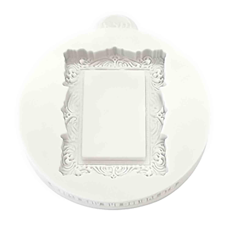 Vintage Rectangle Frame Silicone Mold