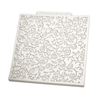 Romantic Swirl Design Mat