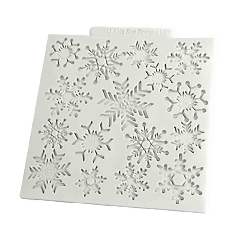 Snowflakes Silicone Design Mat
