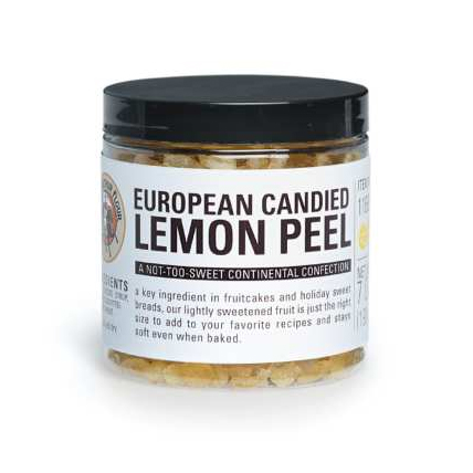 European Candied Lemon Peel