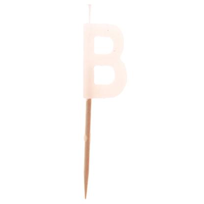 """""""B"""" Candle"""