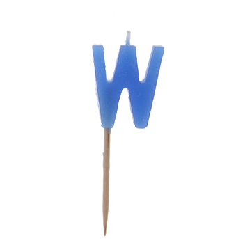 """W"" Candle"