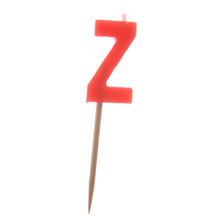 """Z"" Candle"