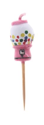 Gum Ball Machine Candle