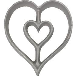 Rosette Mold-Heart
