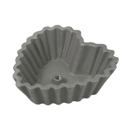 Rosette Mold-Heart Shell