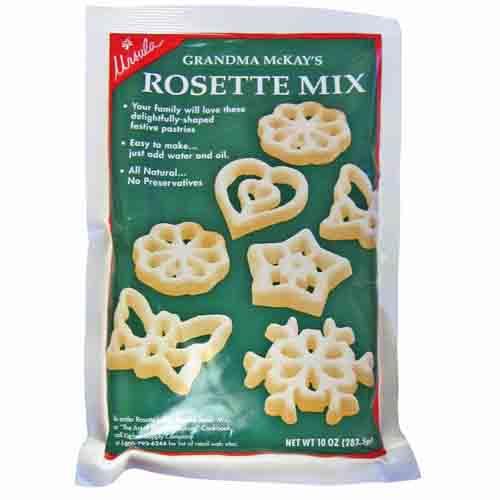 Rosette Batter Mix