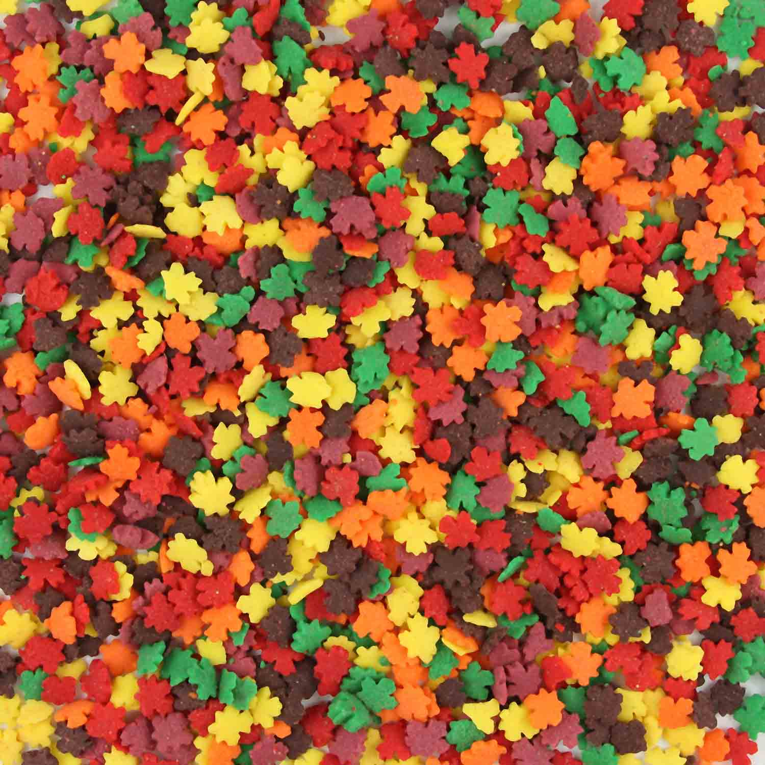Autumn Leaves Edible Confetti Sprinkles